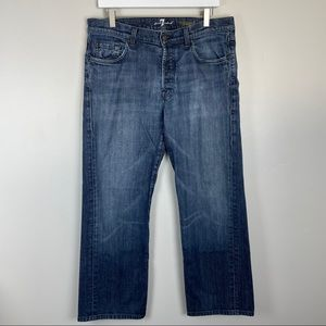 7 For All Mankind Relaxed Jeans 34x29